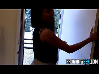 Propertysex hot asian real estate agent tricked to fuck