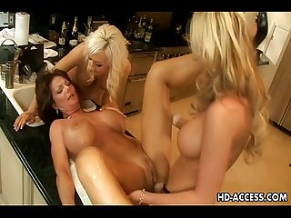 Phyllisha Anne, Jacey Andrews, Devon Lee and Demi Delia fuck