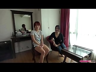 Hot threesome with 2 horny Thai girls