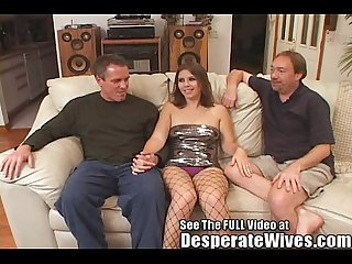 Dana fulfills her slut wife mfm three way fantasy w dirty d