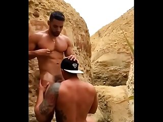 my sexy step brother with amazing body fucks my tight ass outdoor