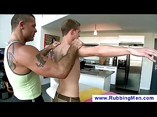Gay boy gets A sensual slow Massage