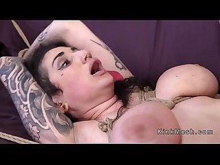 Big ass alt slave anal fucked bondage