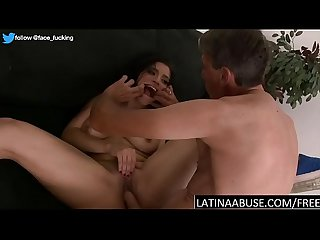 Thick Latina maid pounded very hard