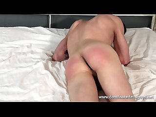 spanking russian guy
