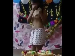 Indian girl party , show her nudes