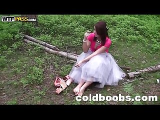 Mila snow fuck in the woods coldboobs com