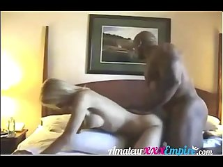 Milf cums reverse cowgirl on black cock