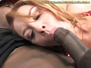 Son Sees Interracial Mom Nut