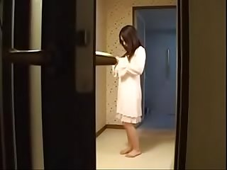 Hot japanese stepmom fucks her son
