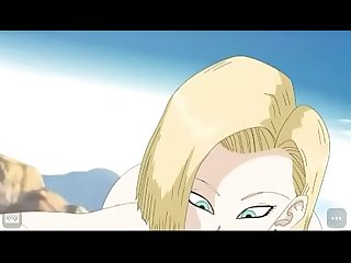 Android 18 blowjob dragon ball z