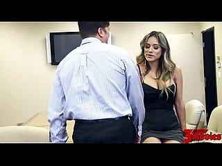 Busty Secretary Fucked In Office
