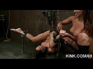 Hot pretty girl fucked and dominated