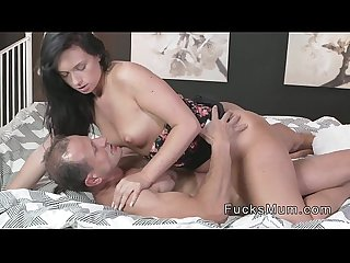 Mature couple banging in bedroom