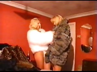 Lana Cox & Katie Anne Day in Furs