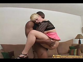 young blonde slut with pink shaved pussy fucked