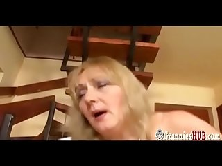 Hot bbw granny with big boobs anal fuck