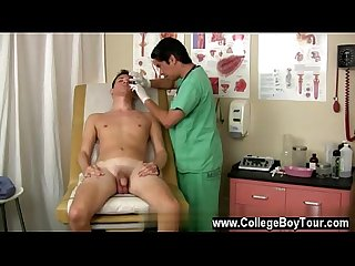 My doctor gay fuck me after medical check with each stroke the