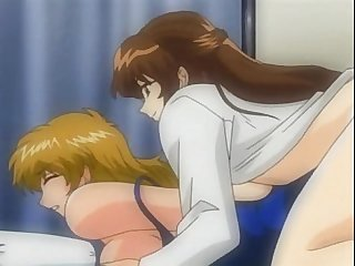 lesbian group deep-throat bdsm fetish hentai toon cartoon slave breasts big-tits