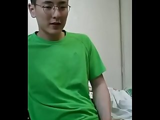Asian boy jerking off 3