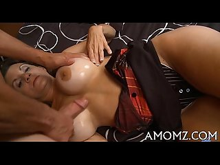 Hot older in a banging act
