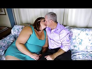 Big beautiful woman fucks a lucky chap and enjoys a facial cumshot