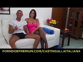 Casting alla italiana french amateur marie clarence enjoys dirty anal casting