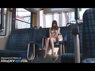 Japanese big tits milf forgot the bus ticket more at elitejavhd com