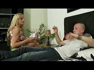 Amateur slut and step brother get it on