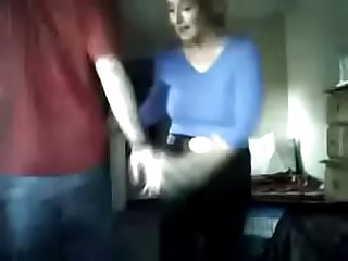 Naughty son makes sure he blackmails MOM! WTF