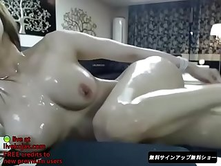 Korean bj oil sex show live at livekojas com