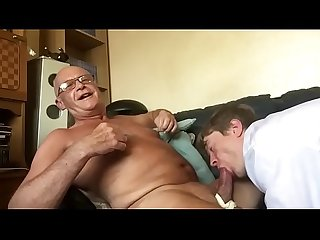 old guy with big cock gets sucked under poppers