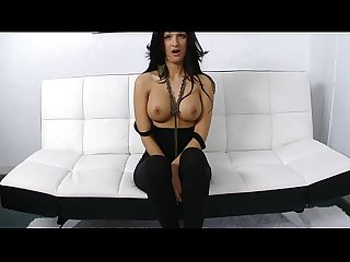 Real senorita masturbates with a dildo