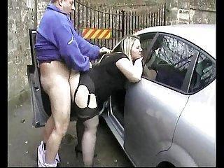 Public fuck for Rachel