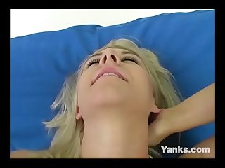 Blonde Ashlee Masturbates For Orgasm