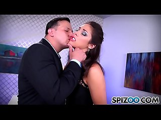 Spizoo Teen Anna morna is punished by A Big dick comma Big booty