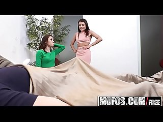 Mofos share my bf shy bfs first threesome starring adria rae and lucie cline and alex davis