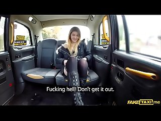 Slutty Amateur student desires the taxi drivers cock
