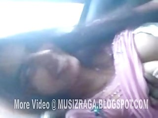 Desi beautiful girl in car and bj with bf