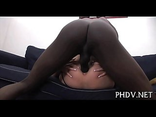 Slut is pounded in anal
