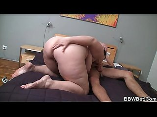 Slut with big jugs gets doggystyled