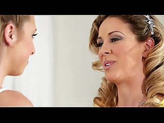 Taylor Whyte and Cherie DeVille at Mommy's Girl