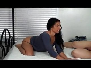 Real beautiful mom has birthday sex with son that ass tho
