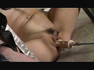 Fucking machine spank