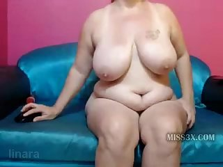 Hot horny old bbw fisting for deep orgasm