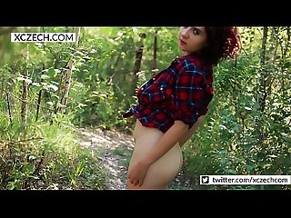 Chubby country girl showing boobs and pussy - XCZECH.com