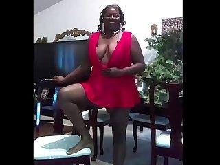 Seora Madura negra del Facebook