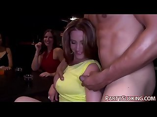 Sultry College Girls Give Blowjobs