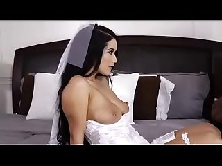 My cuckold Wedding night bride slut wife fucked by black bbc on Wedding night