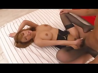 Haruka sanada threesome lingerie fetish Japanese